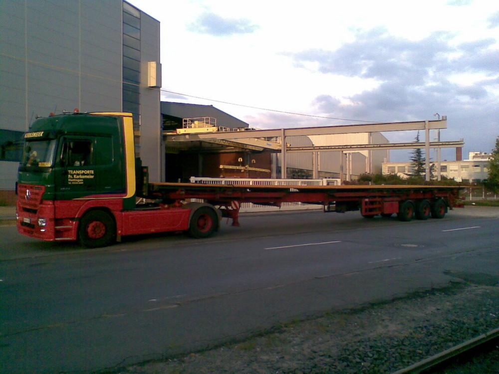 Blech 21,4 meter lang