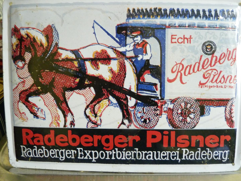 Blechschild Radeberger