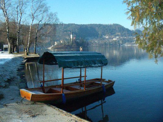 Bled, un village en Slovénie