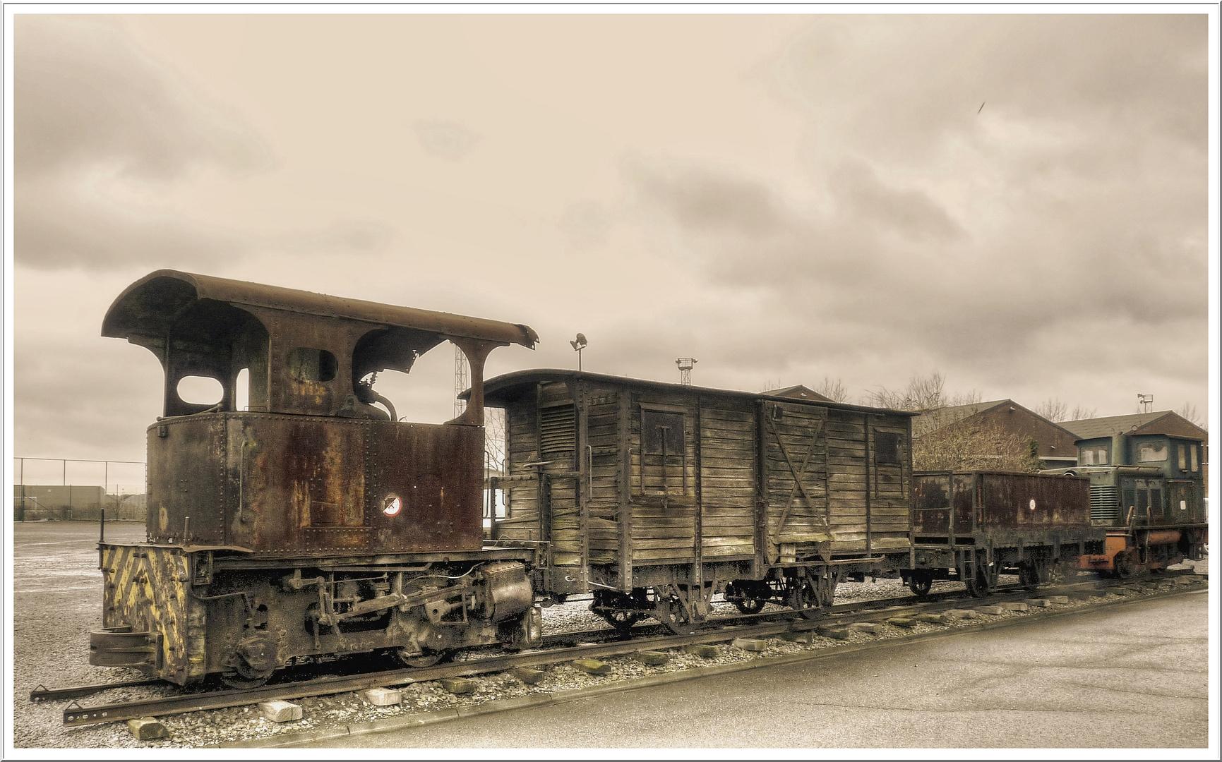 BLEGNY MINE - le vieux train