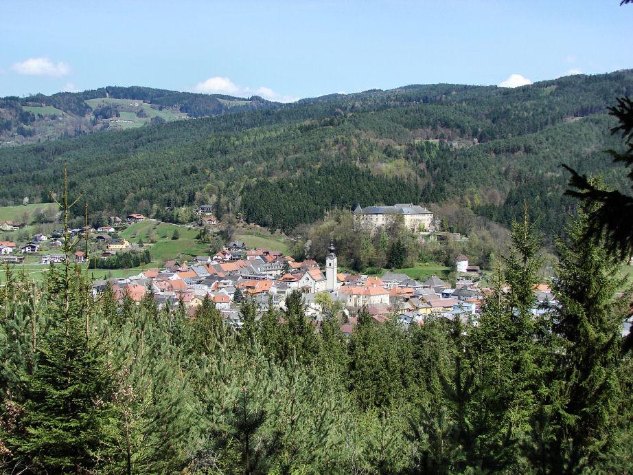 Bleiburg / Kärnten vom Libitsch