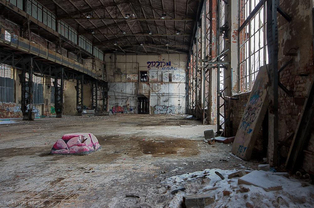 Bleichert-Werke Hauptmontagehalle