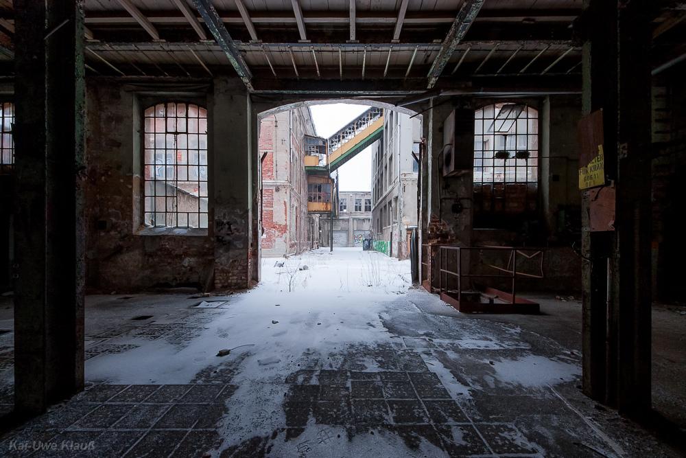 Bleichert-Werke Leipzig, nach draußen