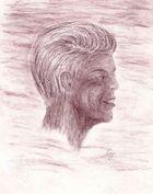 Bleistiftzeichnung Fred