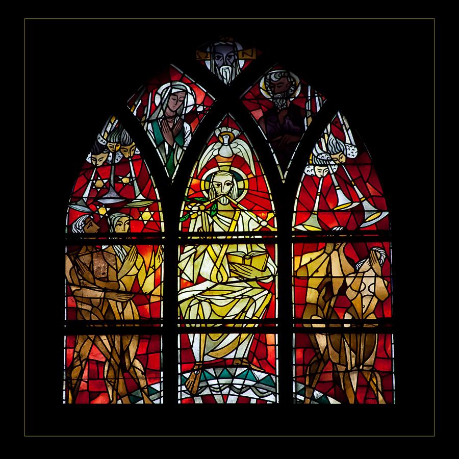 Bleiverglasung im St. Kastor Koblenz