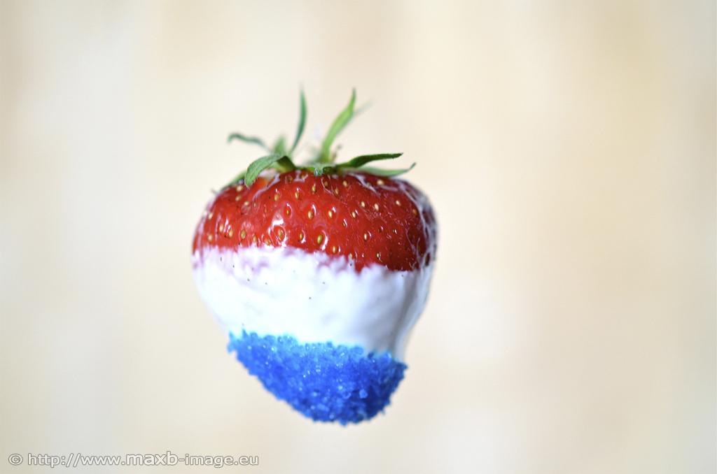 bleu-blanc-rouge Erdbeere
