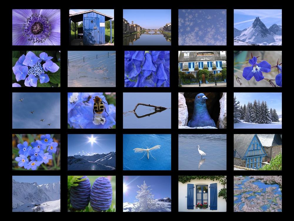 bleu comme le ciel et l'eau source de vie