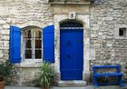 BLeu en Arles