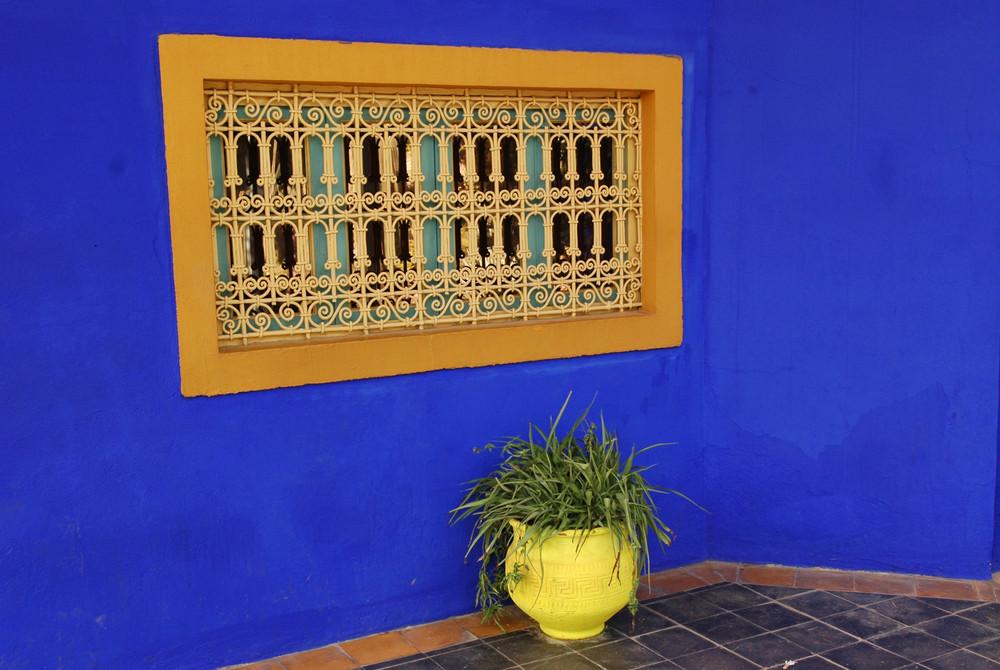 bleu Majorel .Maroc .