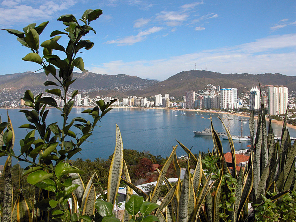 Blick auf Acapulco