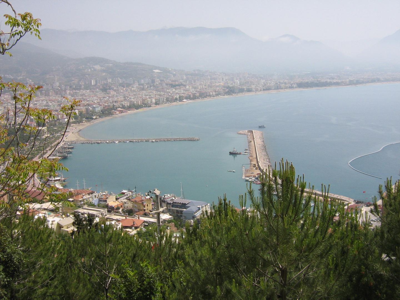 Blick auf Alanya (von der Festung aus)