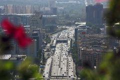 Blick auf Almaty Kasachstan