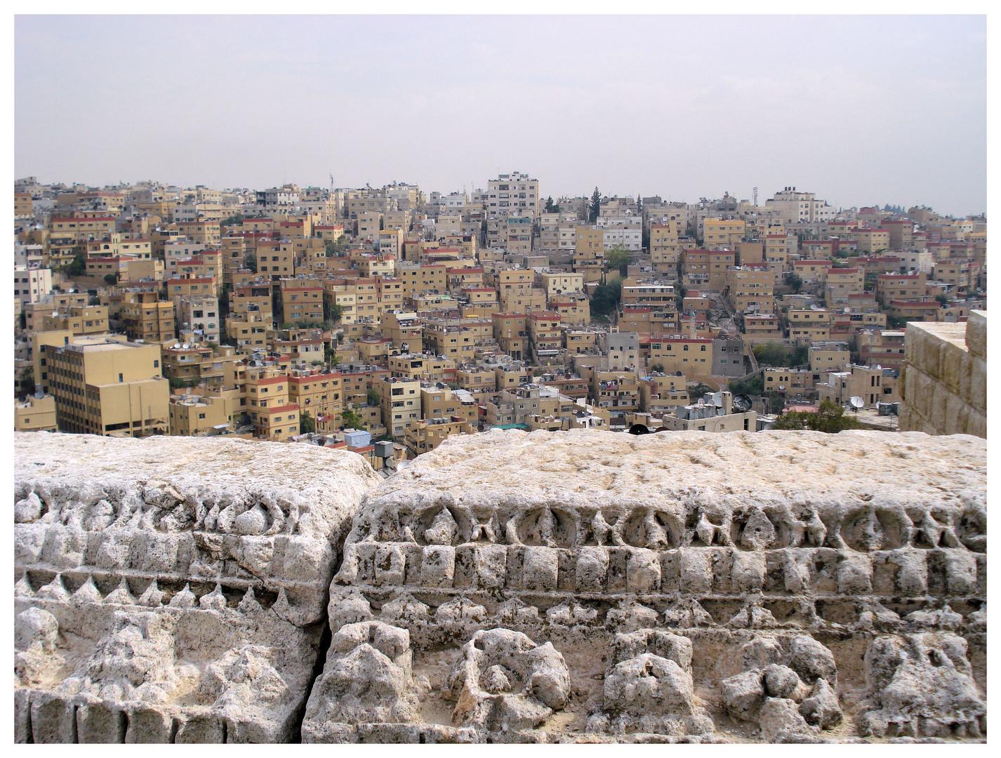 Blick auf Amman