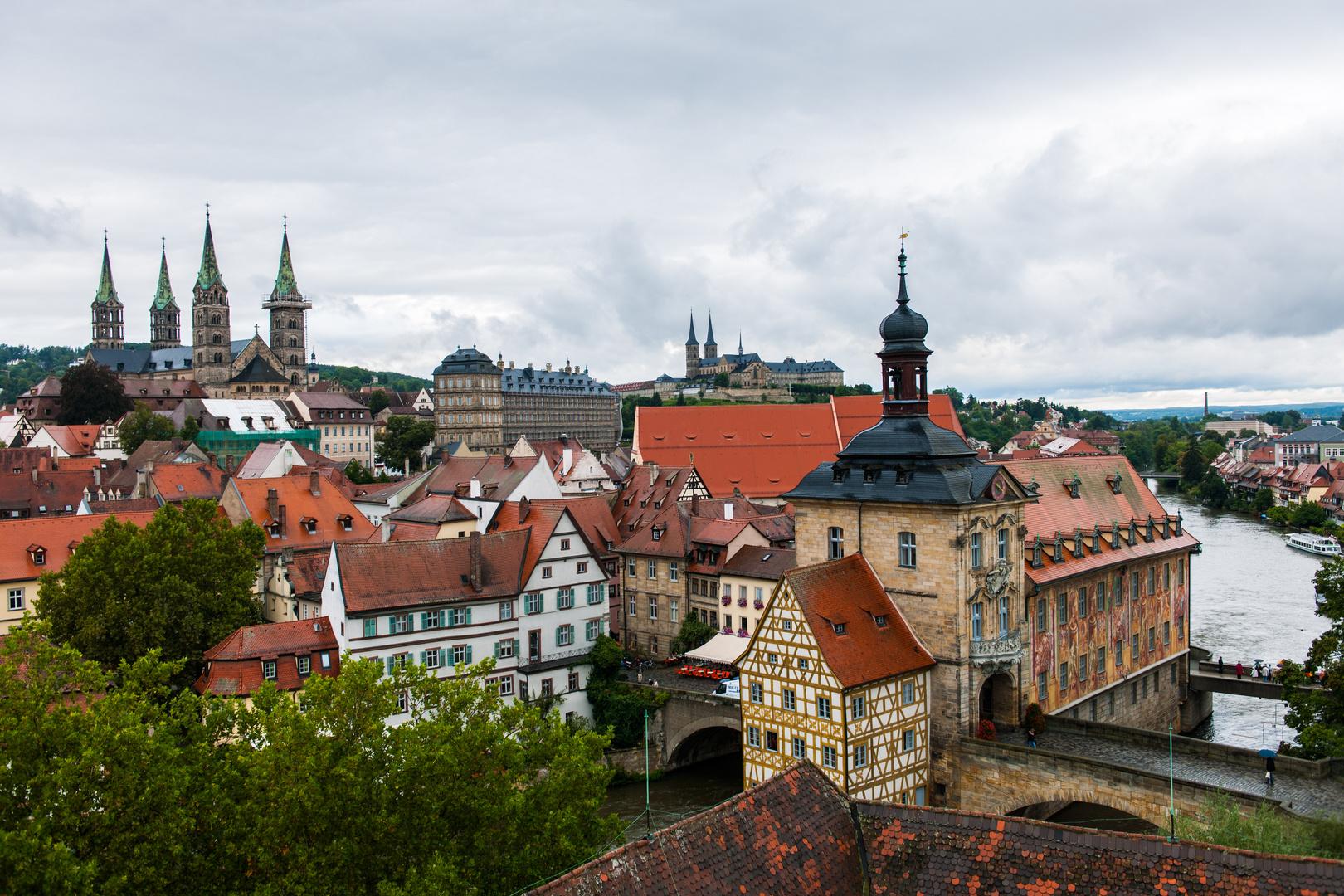 Blick auf Bamberg