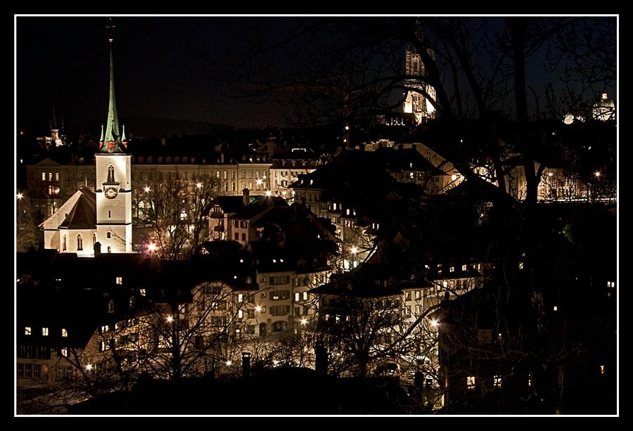 Blick auf Bern