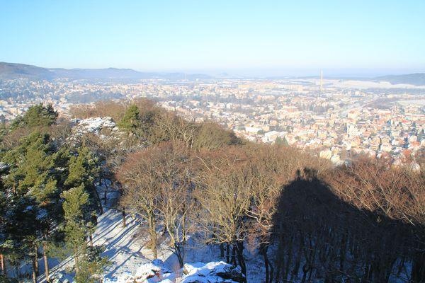 Blick auf Blankenburg