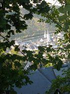 Blick auf Boppard
