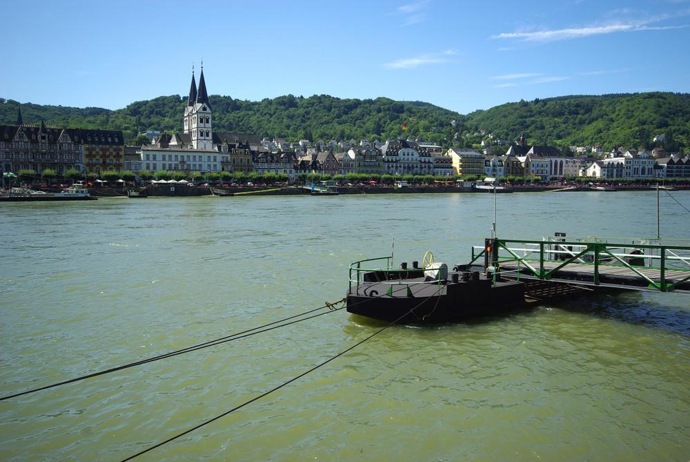 Blick auf Boppard / Rhein
