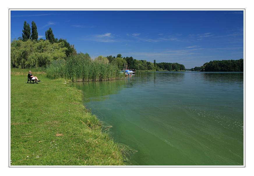 Blick auf Brandenburger Seen 2 ....