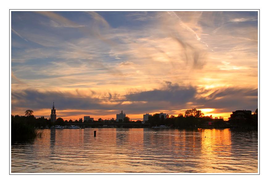 Blick auf Brandenburger Seen 3 ....