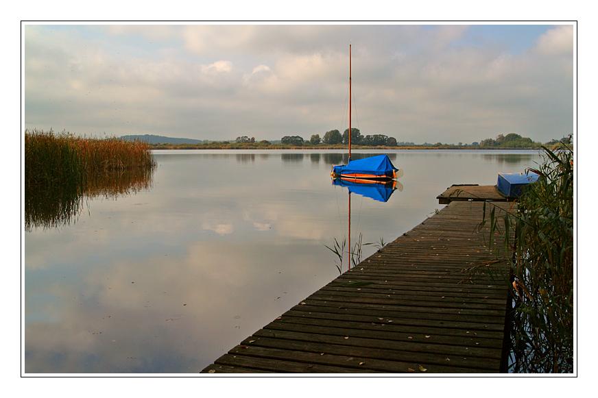Blick auf Brandenburger Seen....