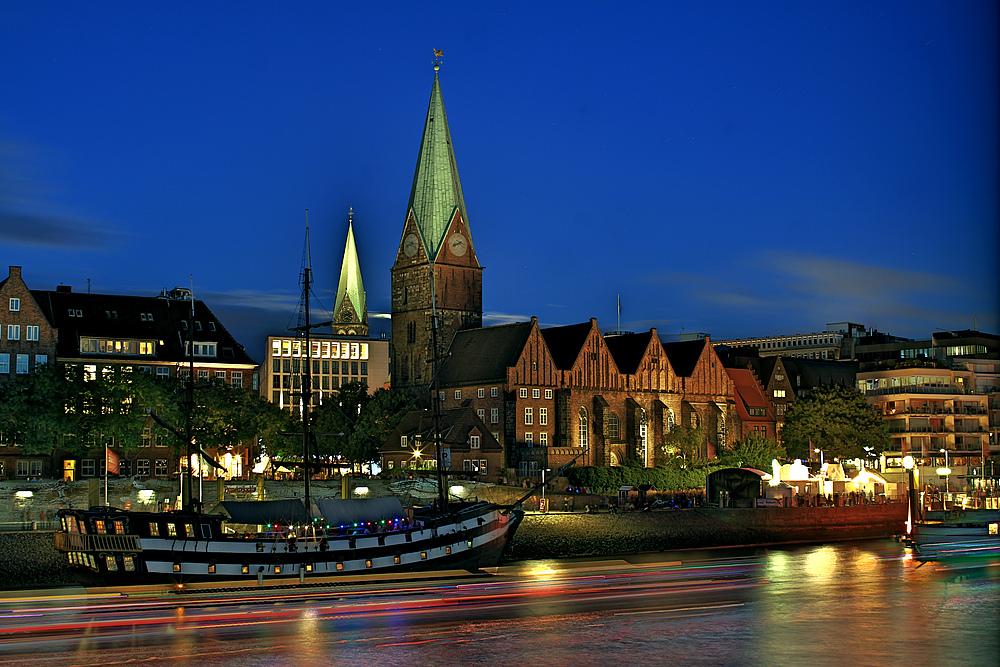 Blick auf Bremen