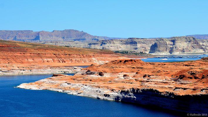 Blick auf Colorado River und Glen Canyon