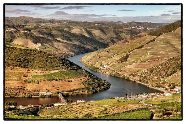 Blick auf das Douro-Tal