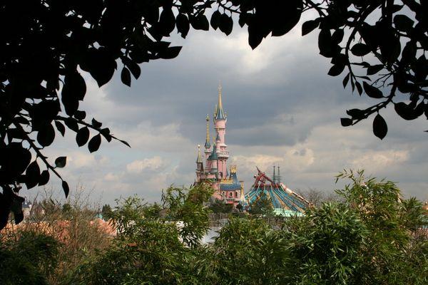Blick auf das Märchenschloss