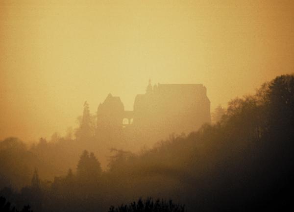 Blick auf das Marburger Schloß