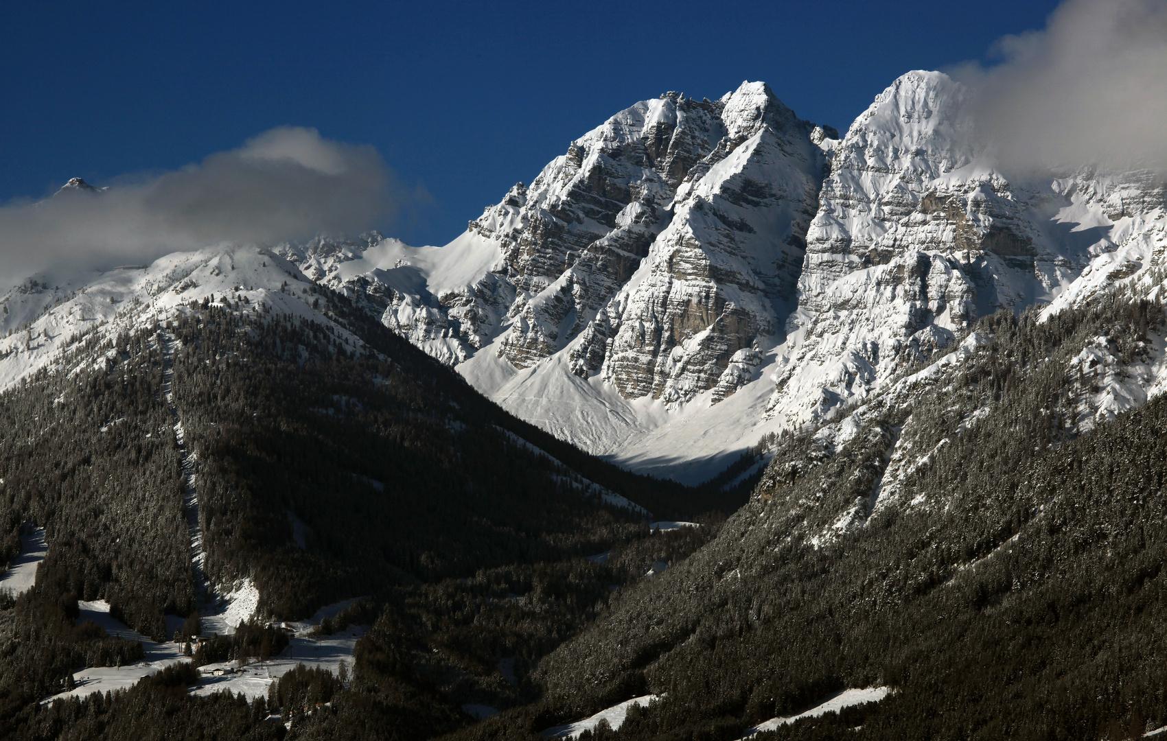 Blick auf das Stubai Gebirge (2)