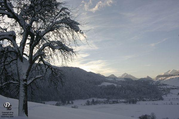 Blick auf das Tierseetal in Österreich