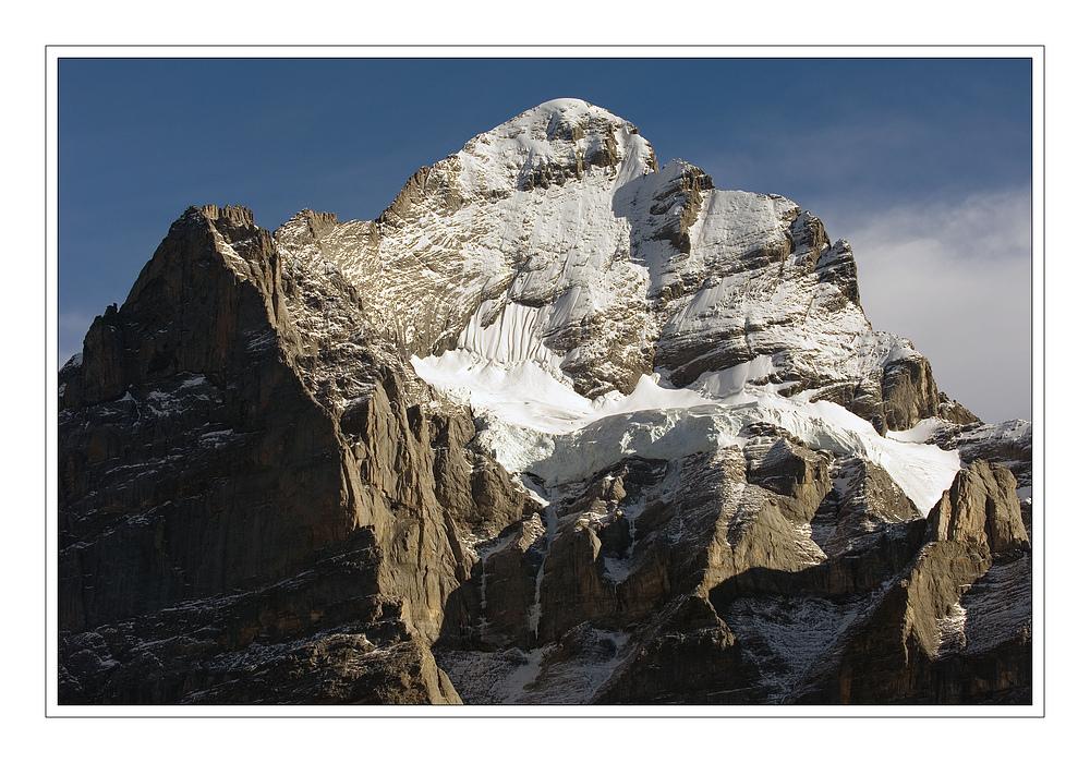 Blick auf das Wetterhorn (3.692 m.ü.M.)