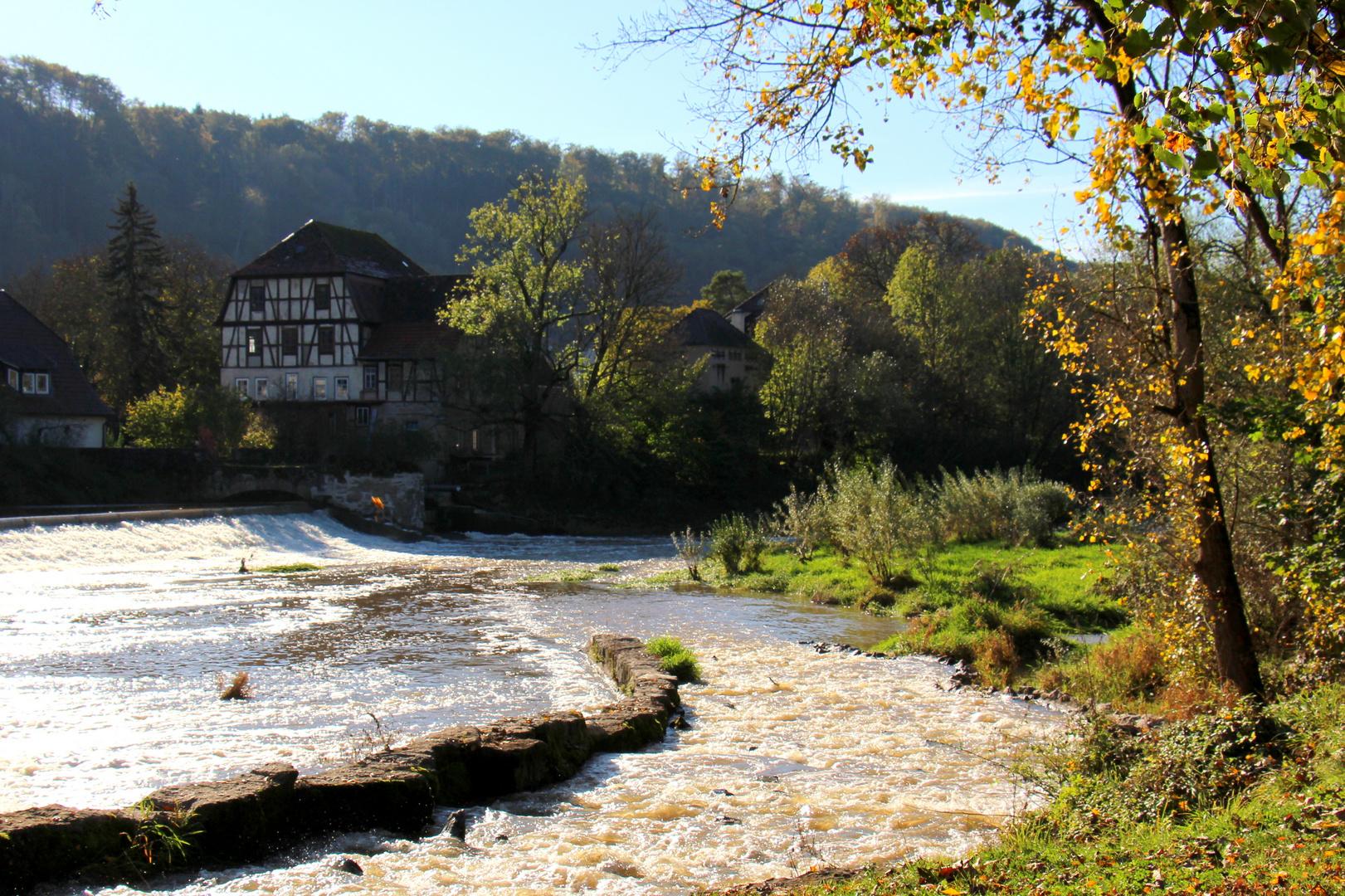 Blick auf dei alte Mühle