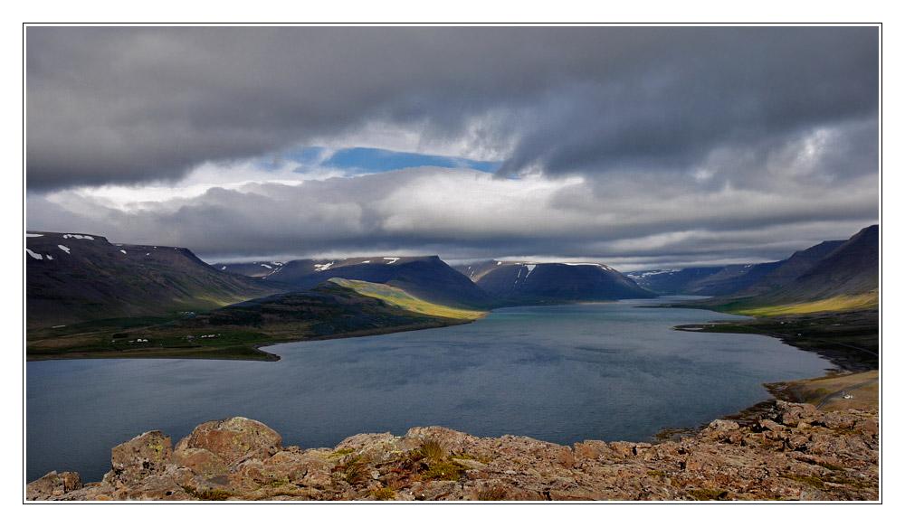 Blick auf den Dýrafjörður
