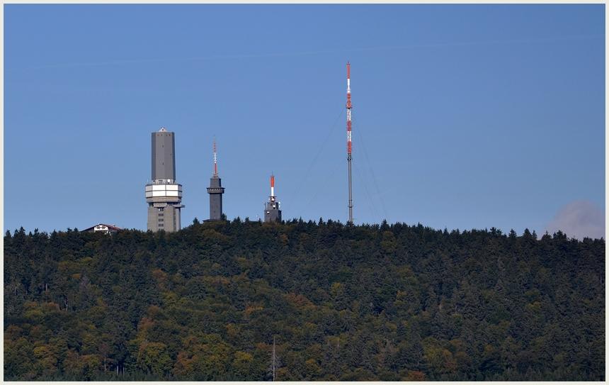 Blick auf den Feldberg (Taunus)