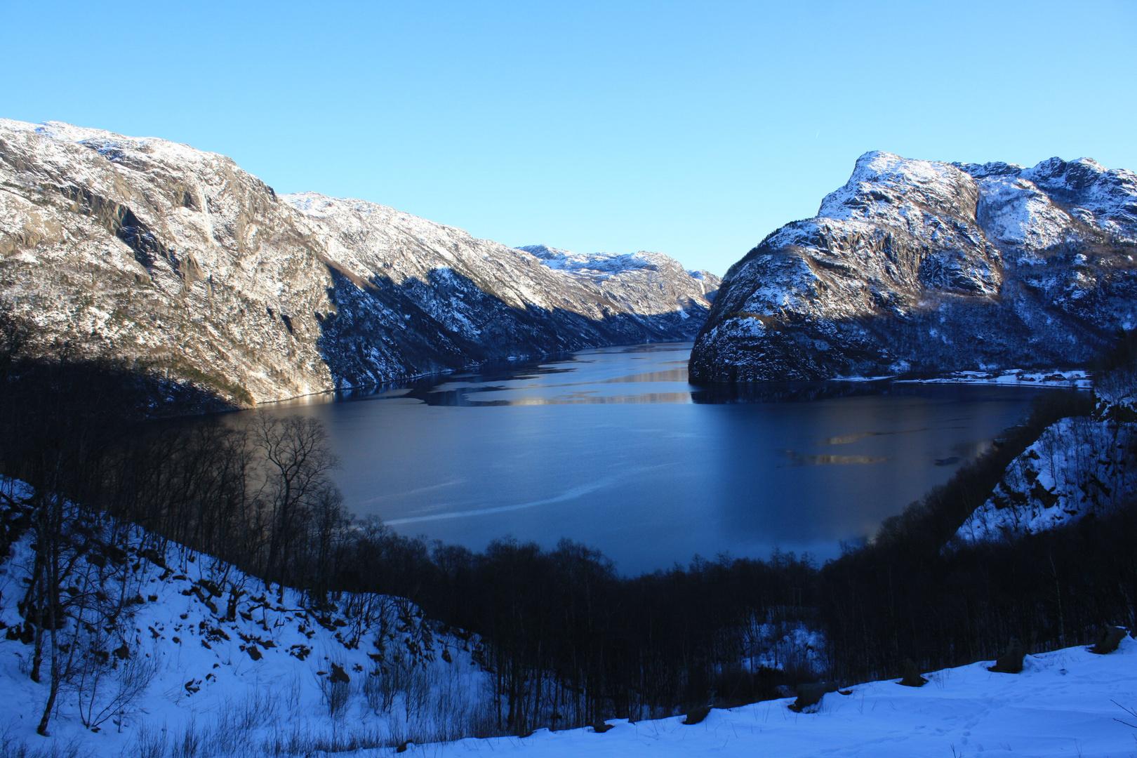 blick auf den Frafjord (Rogaland)