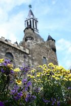 Blick auf den Granusturm in Aachen