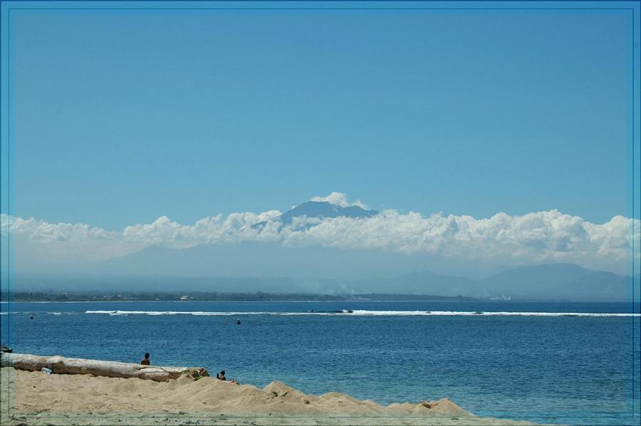 Blick auf den Gunung Agung
