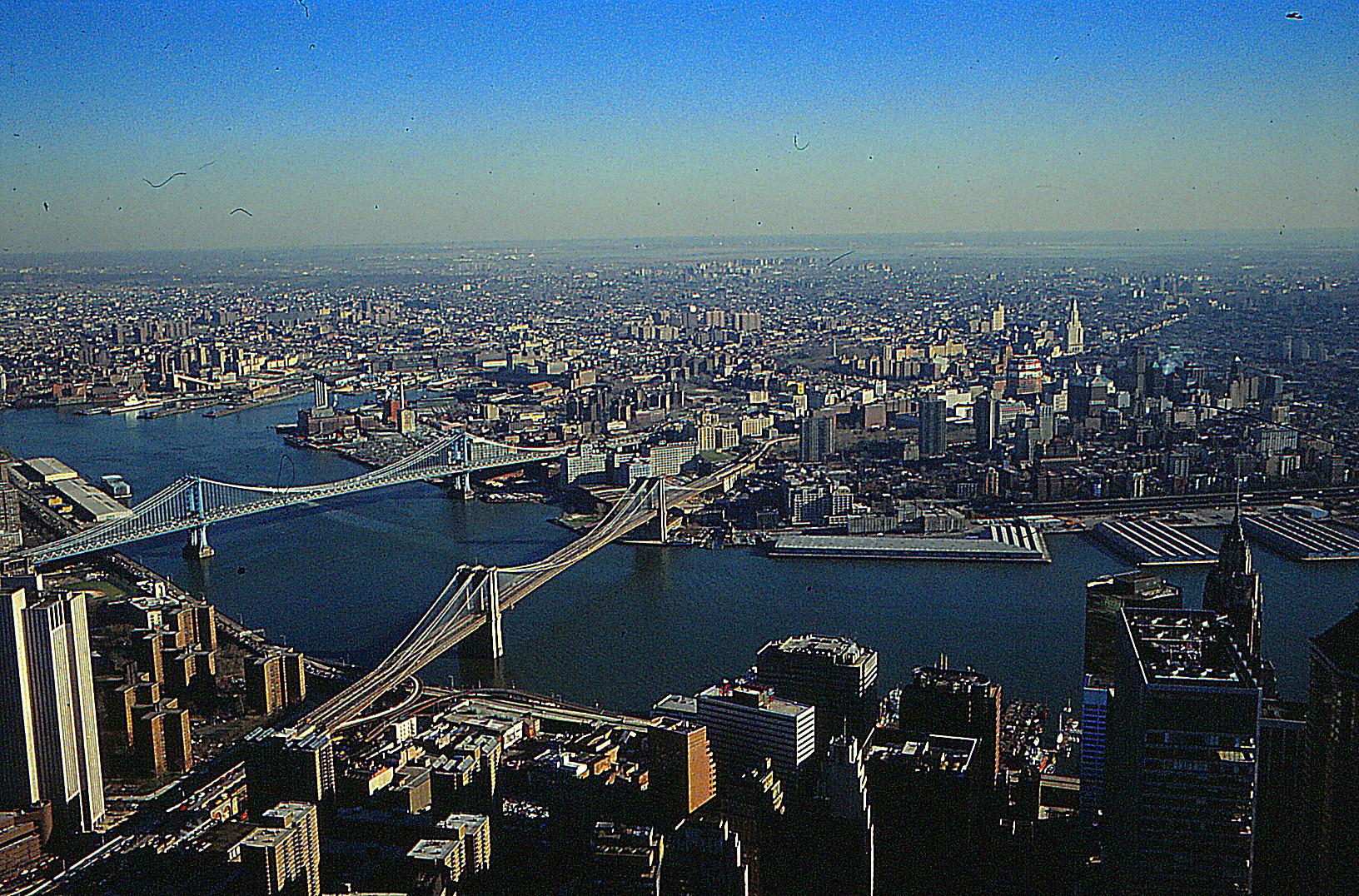 blick auf den Hudson River, New York von WTCI