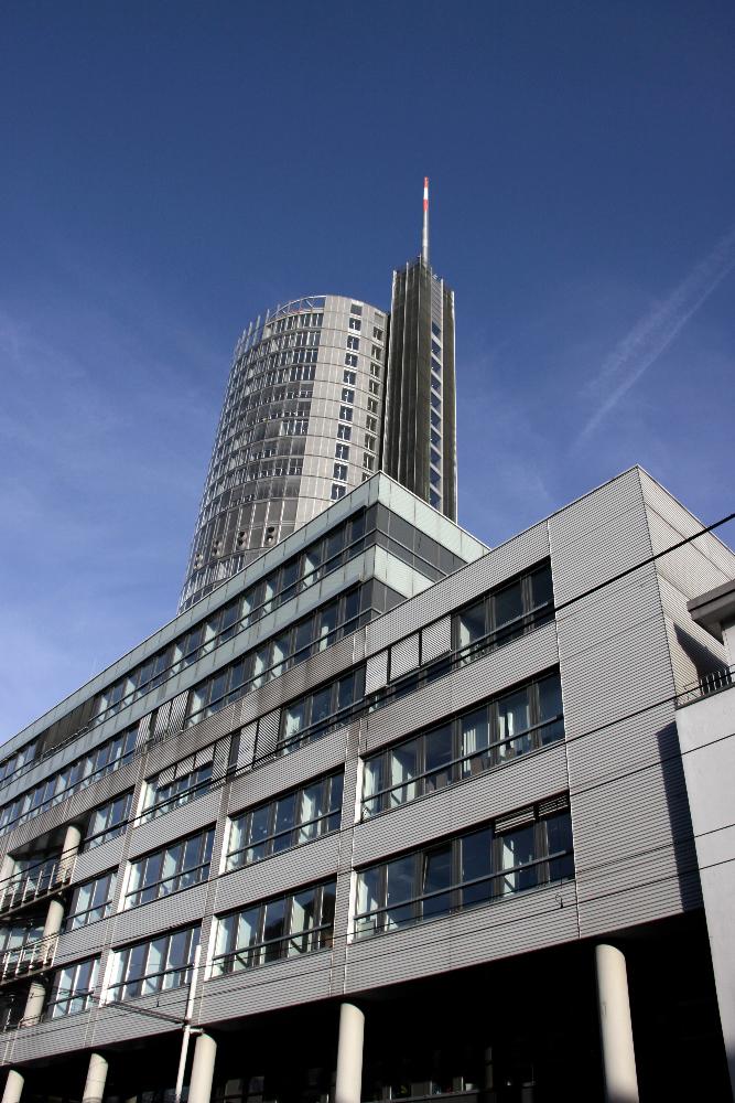 Blick auf den RWE-Tower