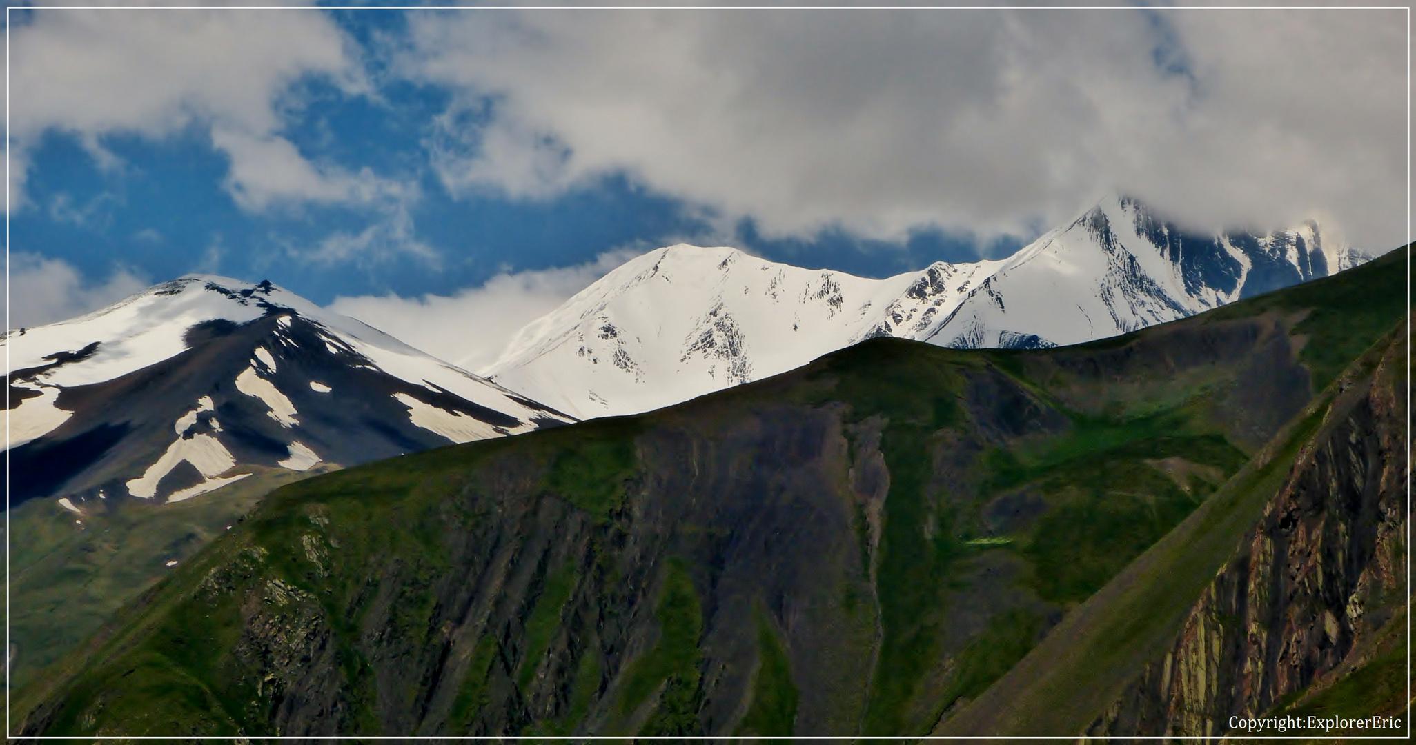 Blick auf den Sahdag, 4142 m............