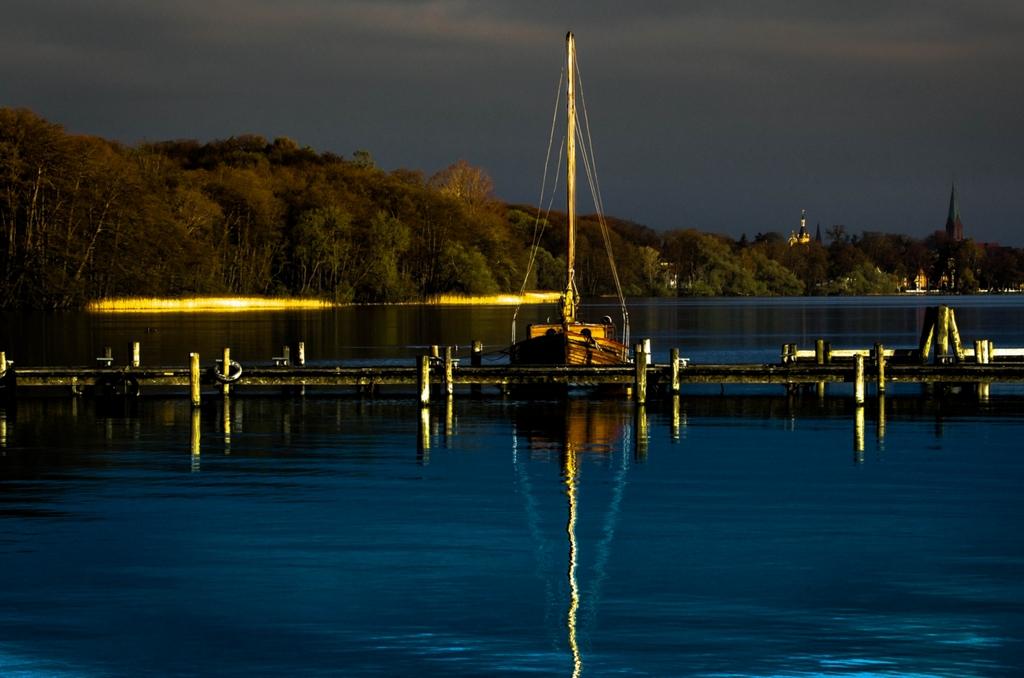 Blick auf den Schweriner See,...