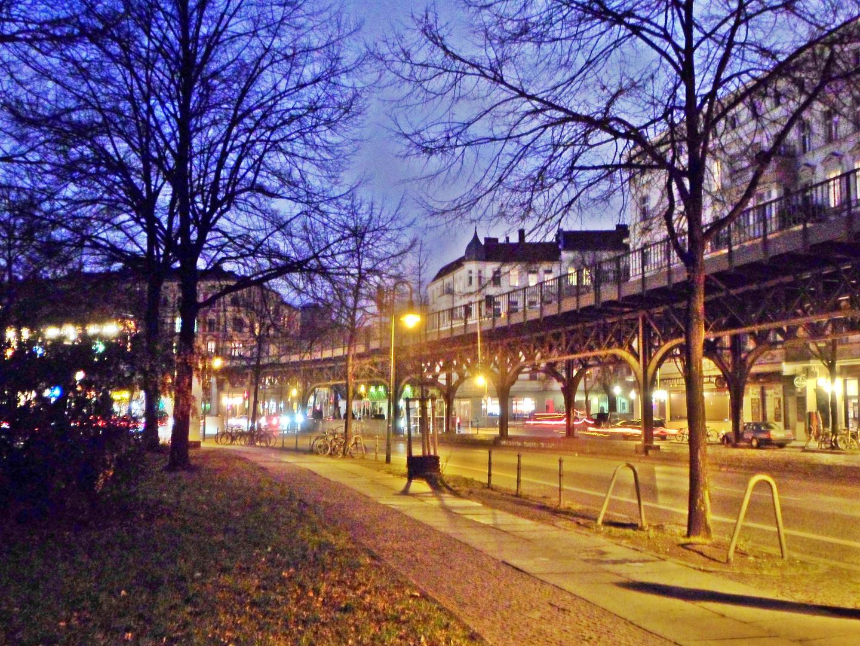 Blick auf den U-Bahnhof Schlesisches Tor