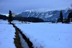 Blick auf den Untersberg