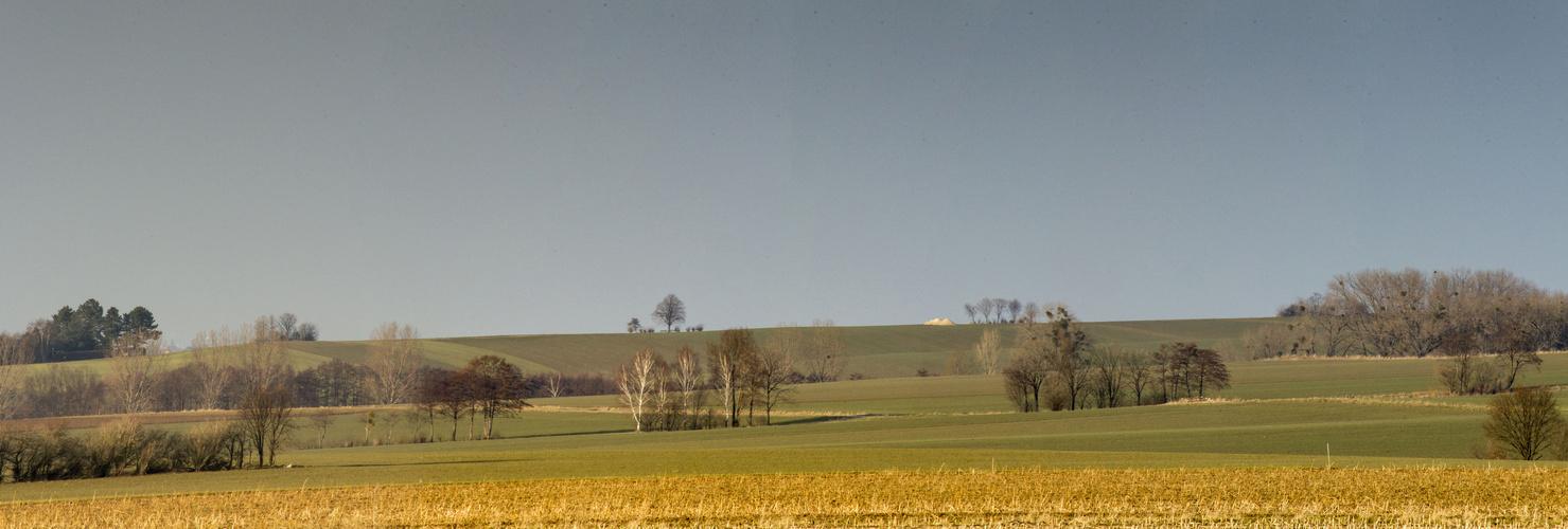 Blick auf den Vörier Berg zwischen Holtensen und Lüdersen