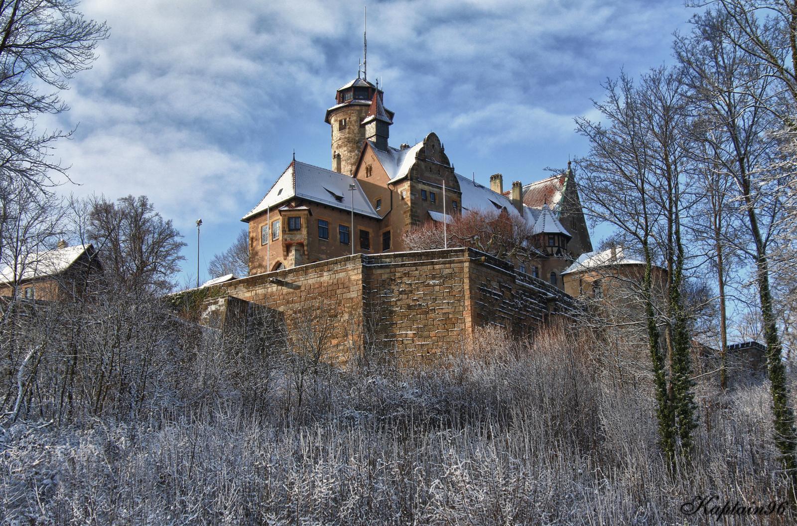 Blick auf die Altenburg