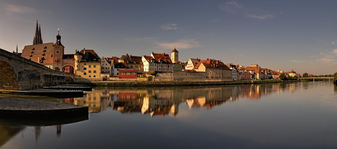 Blick auf die Altstadt - Regensburg