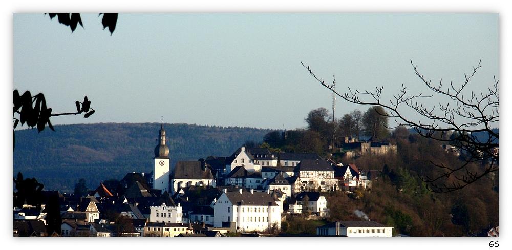 Blick auf die Altstadt von Arnsberg