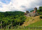Blick auf die Burg Landsberg...